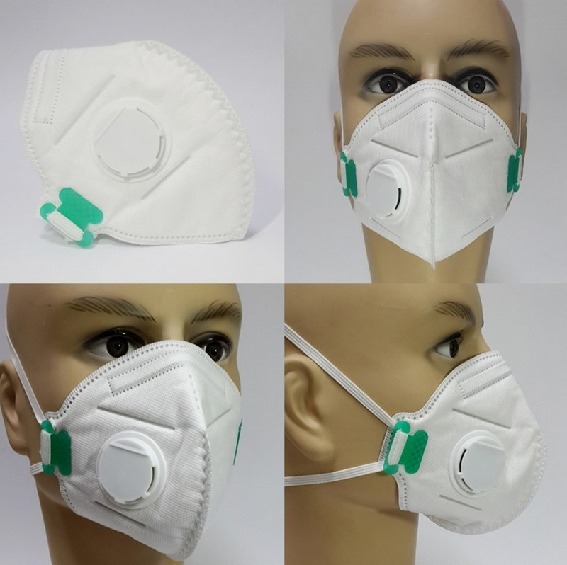 Our HEPA mask has an exhaust valve to help expel heat and moisture.
