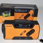 Emergency survival radio - quad powered