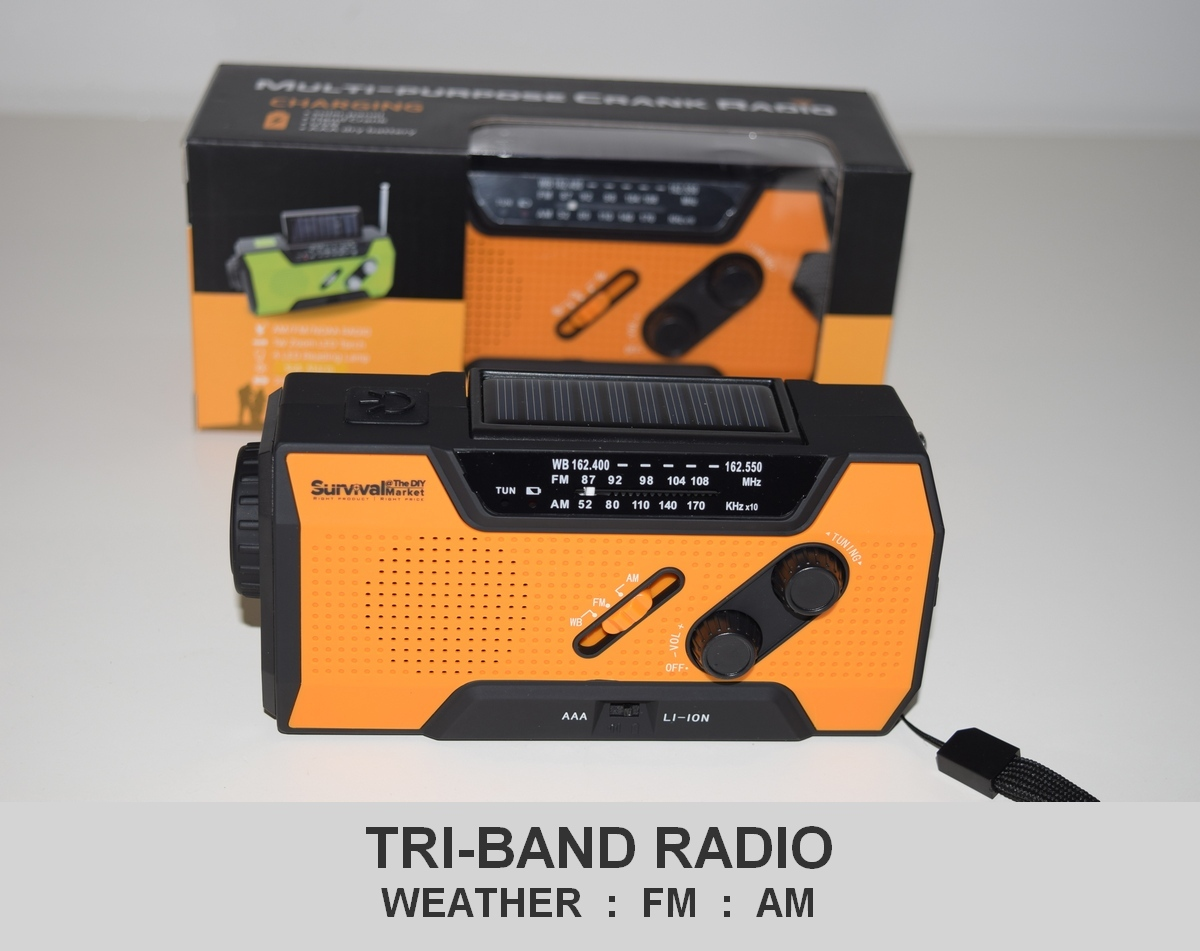 Our No1 best selling emergency survival radio