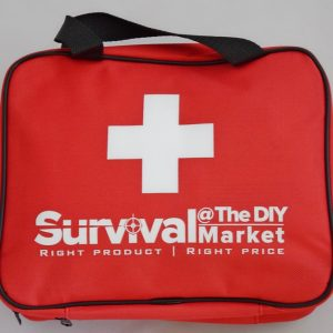 Your first aid kit includes instructions for use in the event of serious trauma.