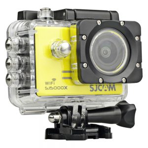 SJCAM SJ5000X Elite 4K WiFi Action Camera with bonus stabilizer