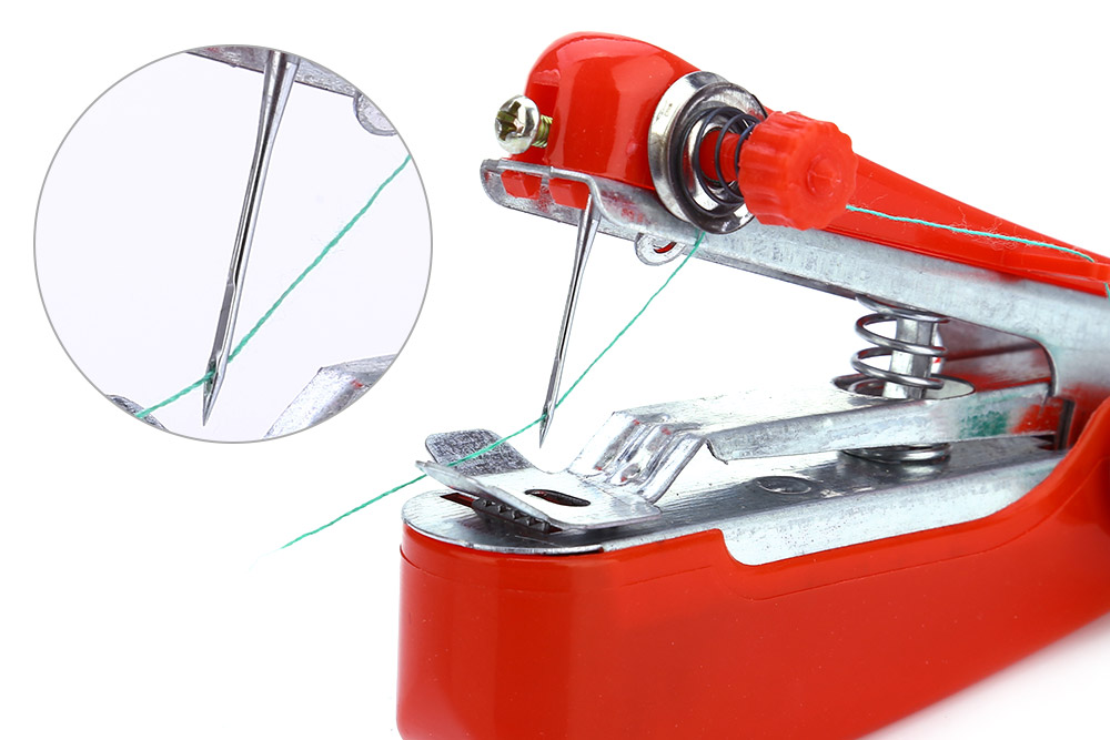 Mini Mobile Portable Hand-held Sewing Machine