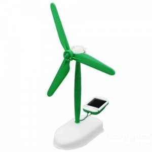 DIY 6-in-1 Solar Power Educational Assembled Toys Kit Green & White