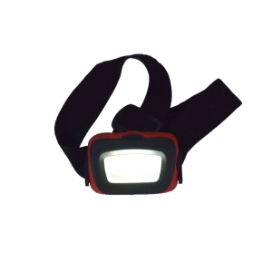 Three function COB LED headlamp