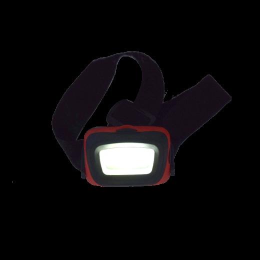 Three function COB LED headlamp